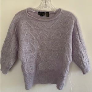 Jeanne Pierre Mohair Blend Sweater Size Small